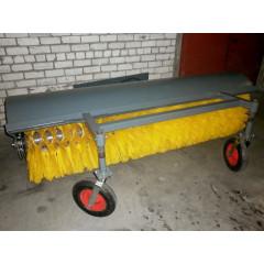 Щетка дорожная МП-250/800 с колесными опорами