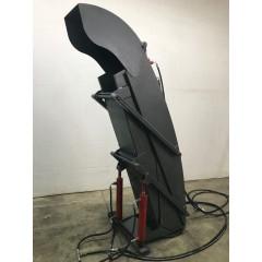 Телескопический погрузочный желоб для снегоочистителей на трактора МТЗ