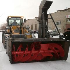 Снегоочиститель с автономным двигателем С-250 АД